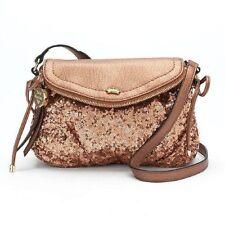 JUICY COUTURE $69 NWT rose gold mini women's purse traveler
