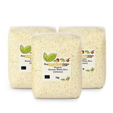 Organic Risotto White [Arborio] 3kg | Buy Whole Foods Online | Free UK Mainland