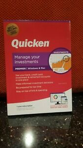 Quicken Premier Finance Software, 1-Year Subscription, For PC and Mac 2021 NEW