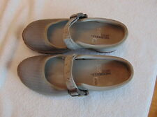 Women's Merrell encore MS Grays Fabric Moc Clog Ortholite Qform Shoes-6.5