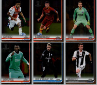 2018-19 Topps Chrome UEFA Champions Soccer - Base Set Cards - Choose #'s 1-100