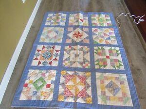 Beautiful Handmade Quilt - Stunning condition - Beautiful Design.
