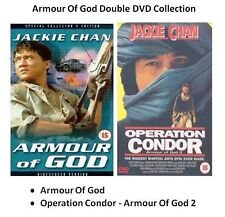 ARMOUR OF GOD PART 1 2 OPERATION CONDOR DOUBLE COLLECTION NEW SEALED UK R2 DVD