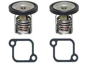 Mercury 200-250 Hp Thermostat 130°F Replaces 8M0057307, 885599003 2 Pack