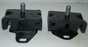 (2) FRONT ENGINE MOUNTS FOR ISUZU S250, P/N 5-53215-030-0