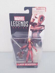 "2016 Marvel Legends Series Lady Deadpool 3.75"" Action Figure MOC Free S&H"