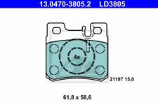 Bremsbelagsatz Scheibenbremse ATE Ceramic - ATE 13.0470-3805.2