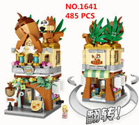 485 PCS LOZ MINI Blocks Kids Building Toys DIY Puzzle Street Nuts Store 1641