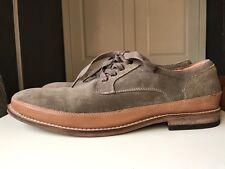Jones Men Man Gent Khaki Leather Designer Dress Boot Shoe Size 9 43