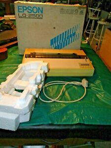 Epson LQ-2500 Wide-Carriage Dot Matrix Printer,  Works Please Read Description