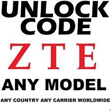 ZTE Unlock Code Z222 Z777 Z730 Z787 Z331 Z431 Z990 Z667T Z813 Z755 Z792 Z812
