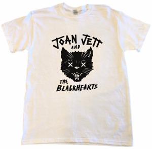 Joan Jett and The Blackhearts T-shirt Unisex S-5XL White TT0541