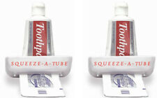 Ez Squeeze Tube Squeezer Toothpaste Creams Ointments Adhesives Holder Rolling