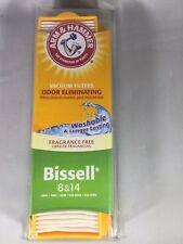 Arm & Hammer Bissell 8 & 14 Odor Eliminating Vacuum Filter Set Fragrance Free