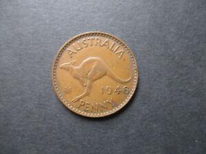 AUSTRALIAN  1946  PENNY  COIN