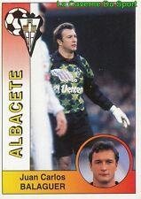002 BALAGUER ESPANA ALBACETE STICKER CROMO LIGA 1995 PANINI