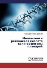 Melatonin I Retinoevaya Kislota Kak Morfogeny Planariy.by Nikolaevna New.#