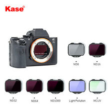 Kase MCUV / ND / Neutral Night Clip-in Camera Filter For Sony Camera