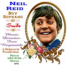 Neil Reid - Boy Soprano - 'Smile' - 1971