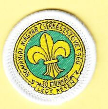 Boy Scout Badge MEMBERSHIP Hungarian Scouts in ROMANIA