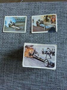 1970 FLEER AHRA DRAG NATIONALS CARD  SET 70/70 missing 2 cards
