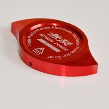 CNC Aluminum Mugen Radiator Cap Protection Cover Dress Up RED For HONDA ACURA