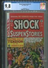 SHOCK SUSPENSTORIES 2 (1992) WALLY WOOD COVER BEST & ONLY CGC NEAR MINT/MINT 9.8