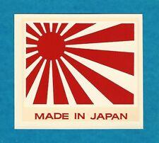 "VINTAGE ORIGINAL 1965 ED ROTH SOUVENIR ""MADE IN JAPAN"" RISING SUN DECAL ART"