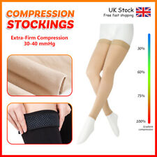 30-40 mmHg Compression Stockings Men's Women Thigh HighMedical Varicose Support
