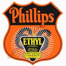 "Phillips 66 Ethyl 10""x9.5"" Vinyl Decal (DC124)"