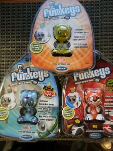 Funkeys Radica Games - Stitch, Webley, Raj Lot Of 3 Brand NEW