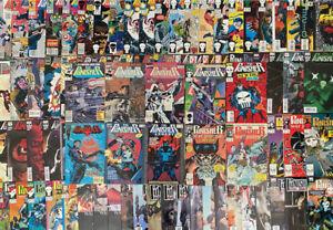 Punisher comic lot of 110 issues (Marvel 1986) Multiple series ~ Avg. NM- 9.2