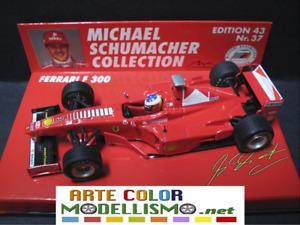PMA MINICHAMPS F1 510984303 FERRARI F300 SCHUMACHER 1998 1/43 SCALE DIE CAST