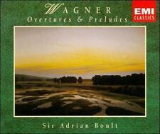 WAGNER: Overtures & Preludes - Lohengrin; Tannhauser; more (2 CDs) ADRIAN BOULT