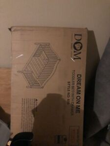 dream on me toddler bed-white frame /Style 650/ Brand New /Never been Opened!