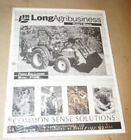 Farm Trac Front End Loader 5140M Owner's Manual P/N 751413