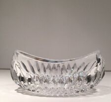 Crystal Oval Bowl Dish