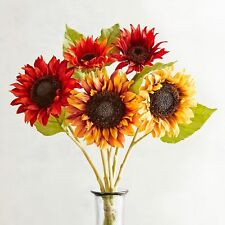 Pier 1 Imports Artifical Flower Fall Faux Sunflower Bundle Fall Harvest New