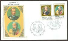 Vatican City Sc# 1020-21, St. Celestine and St. Alfonso on First Day Cover