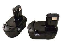 HITACHI EB1814SL 2 Pack 18 Volt 1.4 Amp Hour 18V Nickel Cadium Pod Style Battery