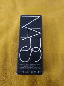 Nars sheer glow foundation 30ml Medium/dark 6412
