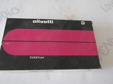OLIVETTI Film NASTRO ORIGINAL TICKET CART CRF 2300 cod. 81700R nuovo