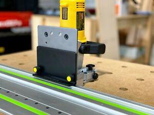Dewalt Biscuit Plate Joiner Rail Connector - Connect your DW682K to Festool Rail