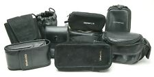 Nine Olympus Lens & Small Camera Soft Pouches. Your Cheapest Insurance.