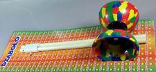 Dynamite Kinder Soft Gummi Diabolo Spiel jonglieren mit Holz-handstäbe ca 38c...