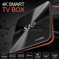 R-TV BOX S10 Smart Android 7.1 TV Box Amlogic S912 Octa core Mini PC WiFi Z6U4