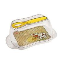Butterdose Butterschale Butterbehälter Butterbox Deckeldose mit Streichmesser