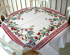 Factory Seconds Vintage Style Tablecloth - Baja Pattern - 100% cotton