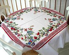 Factory Seconds Vintage Style Tablecloth - Baja Pattern - 100% cotton