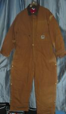 Carhartt Yukon Extremes Coveralls Insulated Artic Quilted Lining Full Body 46S